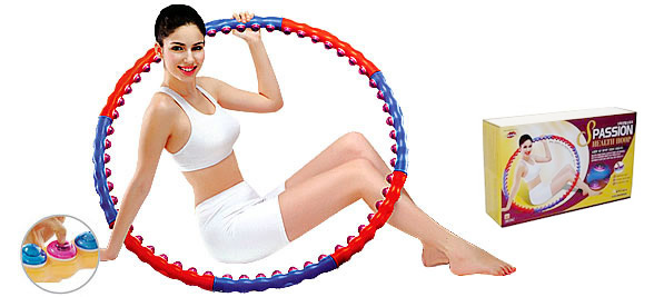 Массажный обруч Health Hoop S Passion -2.0кг