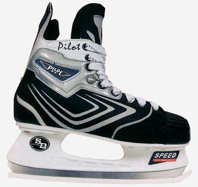 Коньки хоккейные Pilotext