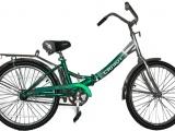 .САЛЮТ 24'' Складной велосипед